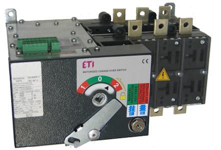Переключатели нагрузки с мотор-приводом типа LA...MO...CO (1-0-2)