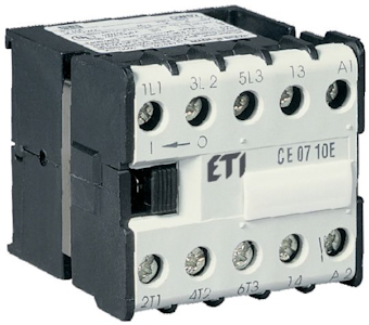 Miniature and auxilary contactors